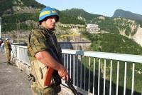 Российские миротворцы первыми приняли удар на себя в Цхинвале