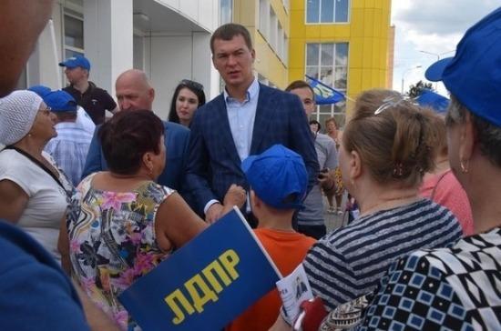 ЛДПР: жители Новой Москвы не должны чувствовать себя обделёнными и забытыми