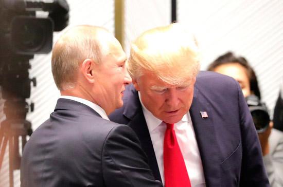 В Белом доме рассказали о письме, которое Трамп написал Путину
