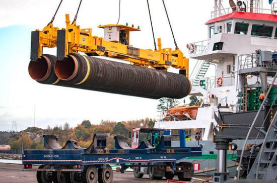 Подготовительные работы по «Северному потоку — 2» идут в трёх странах