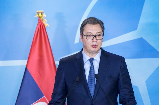 Вучич выступил за разграничение с албанцами в Косово