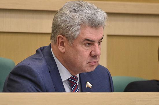 Бондарев считает недопустимым инцидент с ракетой в Эстонии