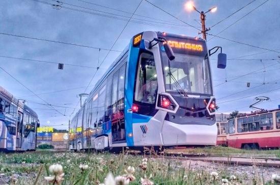 В Петербурге начнёт курсировать трамвай «Метелица»