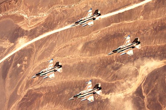 ВВС Израиля нанесли удар поцелям около Аш-Шати— Палестинские источники