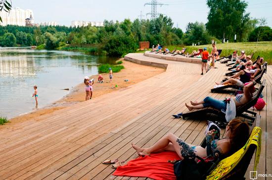 Главную входную группу парка «Вагоноремонт» отреставрировали в Москве