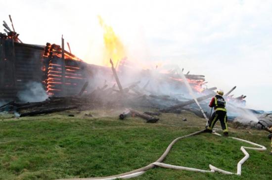 Пивненко призвала проверить деревянные памятники после пожара в церкви в Кондопоге