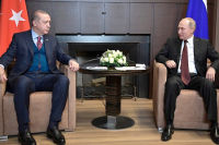Путин и Эрдоган обсудили по телефону последние события в Сирии