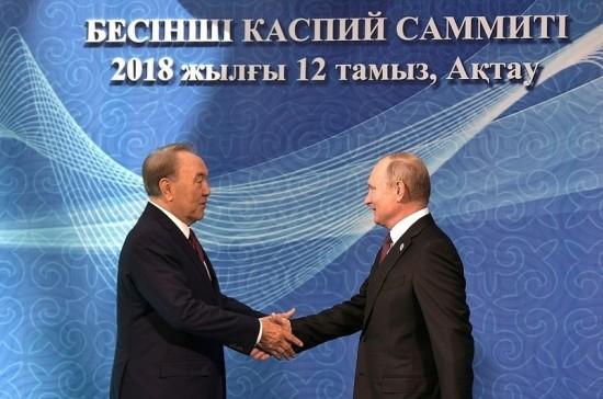 Лидеры «каспийской пятёрки» подписали Конвенцию о правовом статусе Каспия