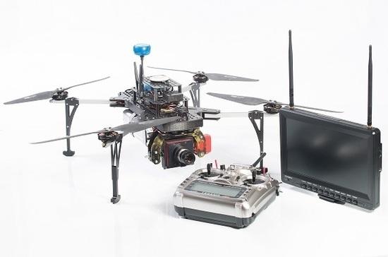 В России разработан дрон для мониторинга в условиях нулевой видимости