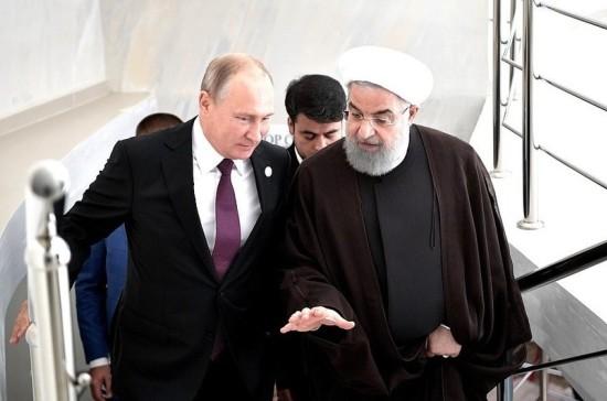 Лидеры России и Ирана обсудили действия США на международной арене