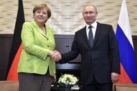 Путин и Меркель проведут встречу 18 августа в Германии