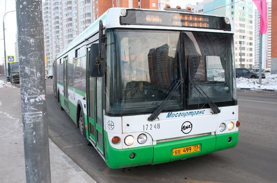 Срок оснащения общественного транспорта системой ГЛОНАСС могут продлить до 1 июля 2019 года