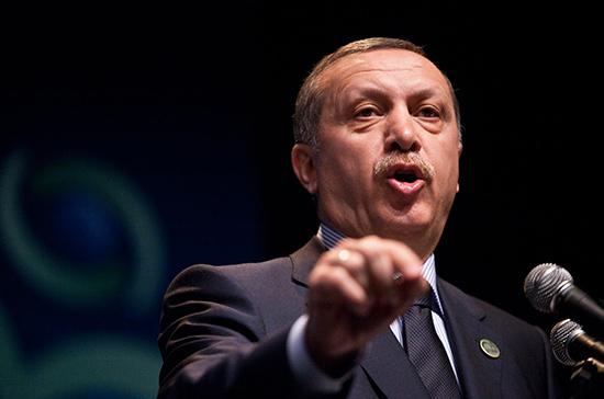 Эрдоган переизбран председателем правящей партии Турции