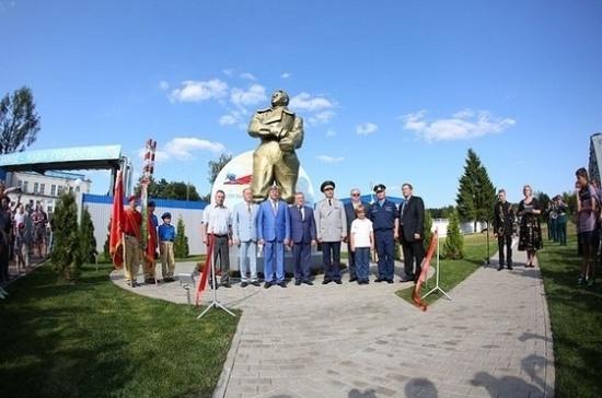 В Подмосковье появился памятник Чкалову