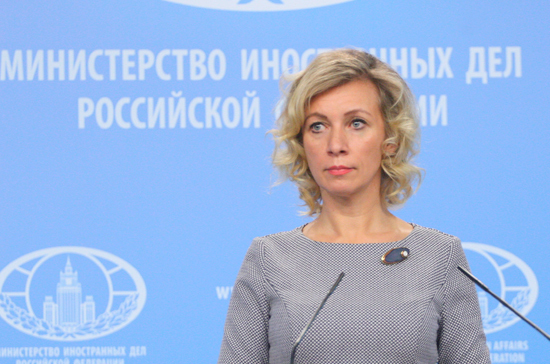 Захарова назвала угрозу новых санкций США против России фактором предвыборной агитации