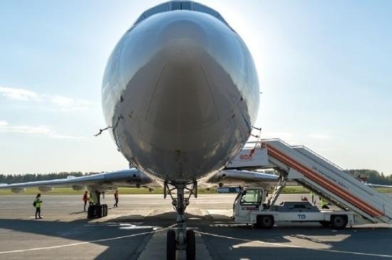 Загоревшийся самолет экстренно приземлился в аэропорту Уфы