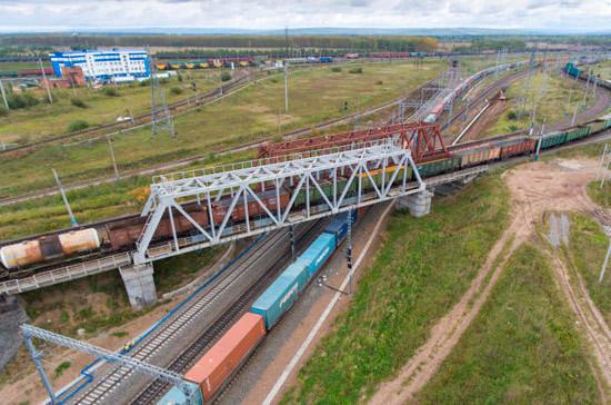 Объём транзитных перевозок между Россией и Китаем в 2018 году вырос на четверть