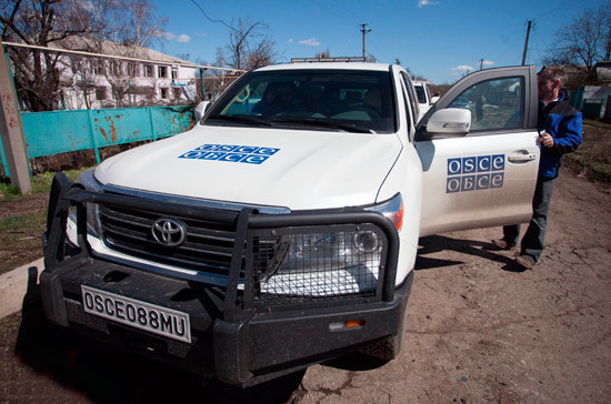 В ОБСЕ за неделю зафиксировали более 6 тыс. нарушений перемирия в Донбассе