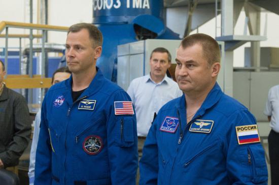 Экипаж МКС-57/58 сдал экзамен по ручному причаливанию и перестыковке
