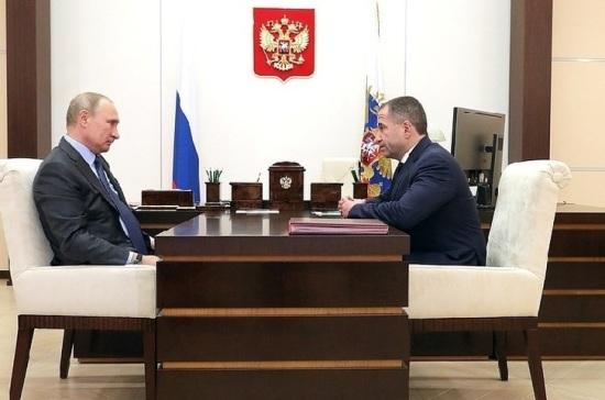 Путин пожелал успехов новому послу в Белоруссии Бабичу