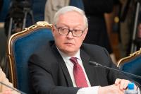 Рябков назвал шантажом действия США в отношении Ирана