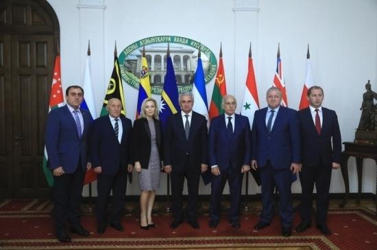 Россия подтвердила готовность содействовать развитию Абхазии