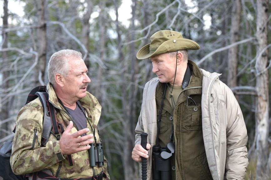 Появились подробности отдыха Путина в Туве