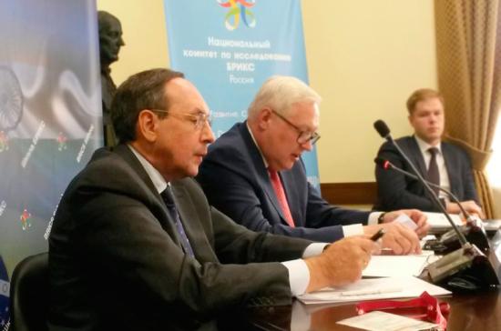 Никонов приветствовал участников международной «Школы БРИКС»