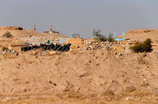 В Сирии боевики атаковали правительственные войска в районе Пальмиры