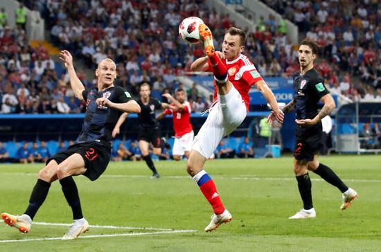 Гол Черышева в ворота хорватов претендует на звание самого красивого по версии ФИФА