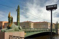 В Санкт-Петербурге под эскадроном конногвардейцев рухнул мост со сфинксами