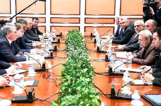 Российско-иранское межрегиональное сотрудничество охватывает 18 субъектов, заявил Лариджани