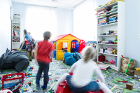 В офисах откроют детские комнаты