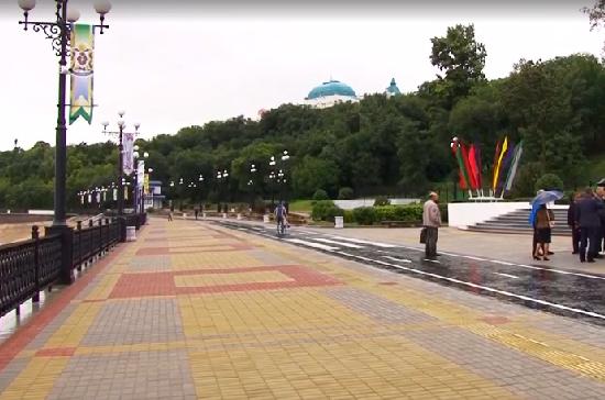 В Хабаровске реконструировали набережную, пострадавшую от наводнения