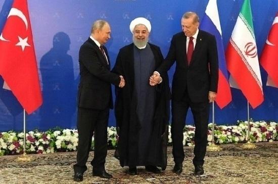 Следующий саммит РФ, Ирана и Турции по сирийскому регулированию пройдёт в России