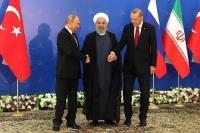Лидеры России, Турции и Ирана приняли декларацию по итогам саммита в Тегеране