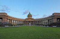 У Казанского собора особенный купол