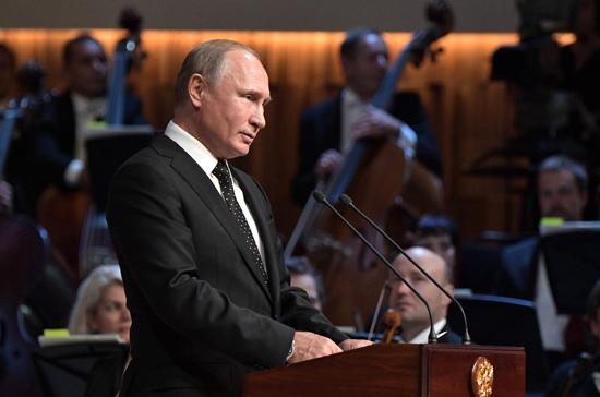 Путин поздравил жителей Москвы с Днём города