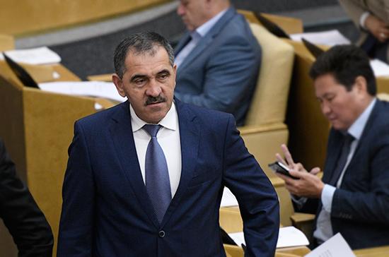 Евкуров в третий раз избран главой Ингушетии