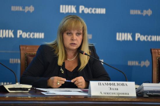 Памфилова призвала не доверяющих выборам политиков пойти в наблюдатели