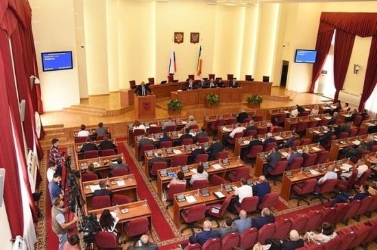 В донском парламенте будет шесть фракций