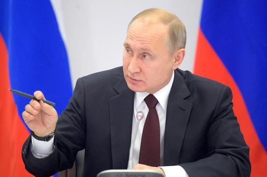 Путин дал старт строительству первого танкера класса «Афрамакс»
