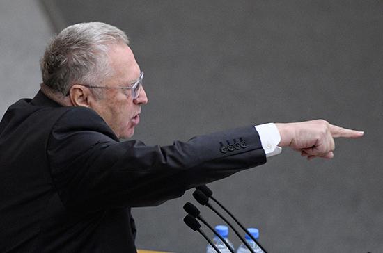 Жириновский поддержал Золотова
