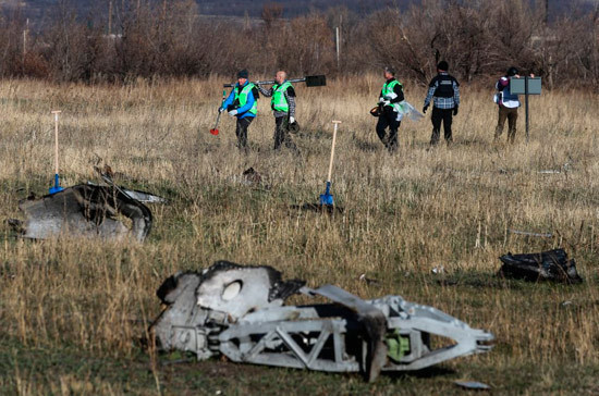Спикер первой палаты Нидерландов призвала все страны участвовать в расследовании катастрофы MH17