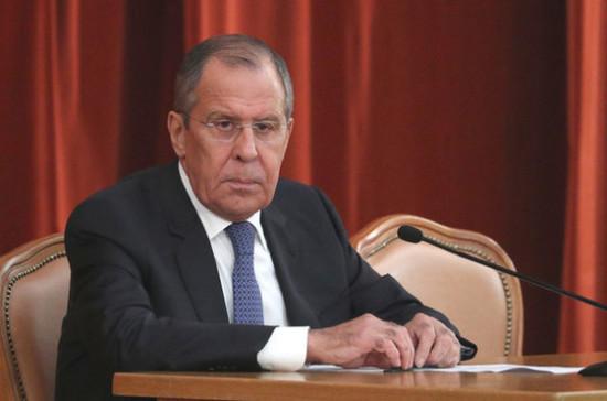Лавров назвал политику Запада в отношении РФ «гибридной войной»