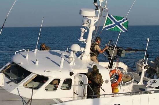 Украина пожаловалась на действия российских пограничников в Азовском море