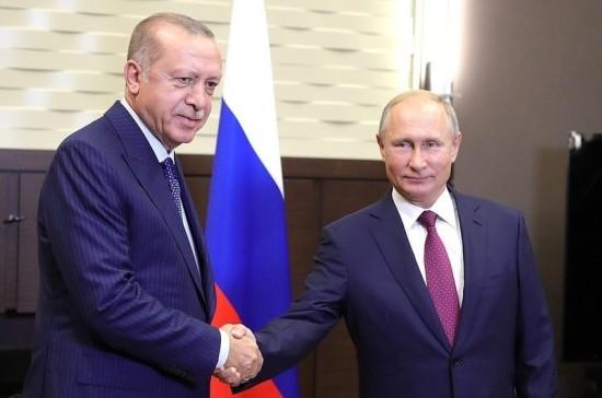 Путин и Эрдоган договорились создать в Идлибе демилитаризованную зону