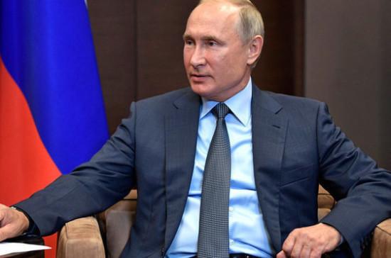 Путин заявил о нарушении Израилем суверенитета Сирии