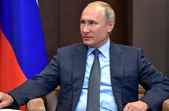 Путин отметил активное развитие отношений России и Венгрии