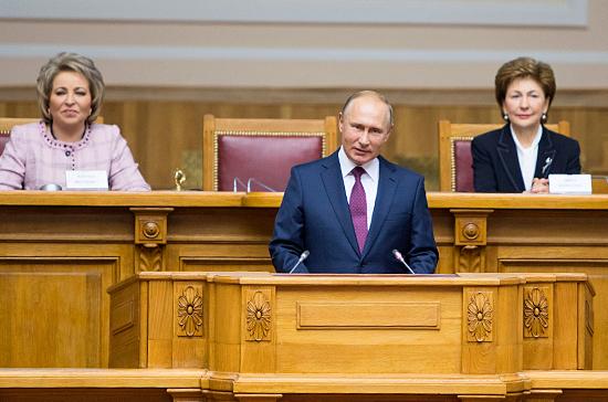 Что пообещал женщинам Владимир Путин